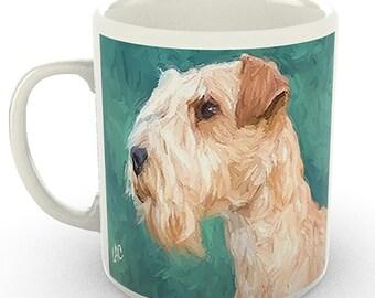 Lakeland Terrier 11 Ounce Ceramic Mug By Doggylips