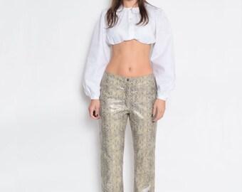 Vintage 90's Faux Snakeskin Pants