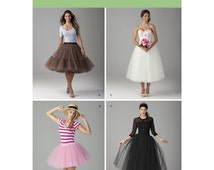 Simplicity 1427 UNCUT Misses  Dance Ensemble Ballet Jazz Modern Dance Very Easy Costume Tutu Talent Show Sewing Pattern