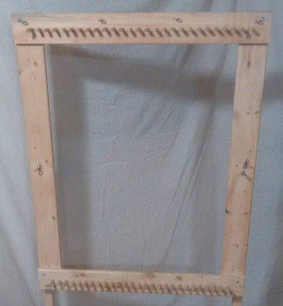 Plans For Rag Rug Loom: Solid Hardwood Basic Rag Rug Loom