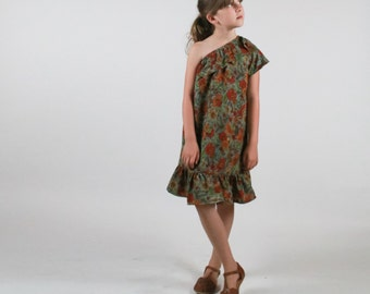 Sincerely Dress PDF pattern and tutorial - sizes 2t - 10, childrens sewing pattern - Instant download