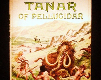 Edgar Rice Burroughs: Tanar of Pellucidar ACE 79791 Vintage Science Fiction Paperback Book