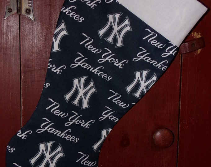 Yankees Christmas Stocking