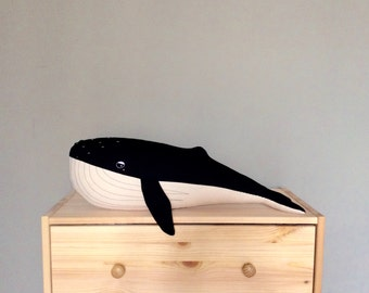 Giant Humpback Whale / Free shipping / Made to order