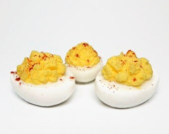 Deviled Egg Shaped Soap - 3 Pieces
