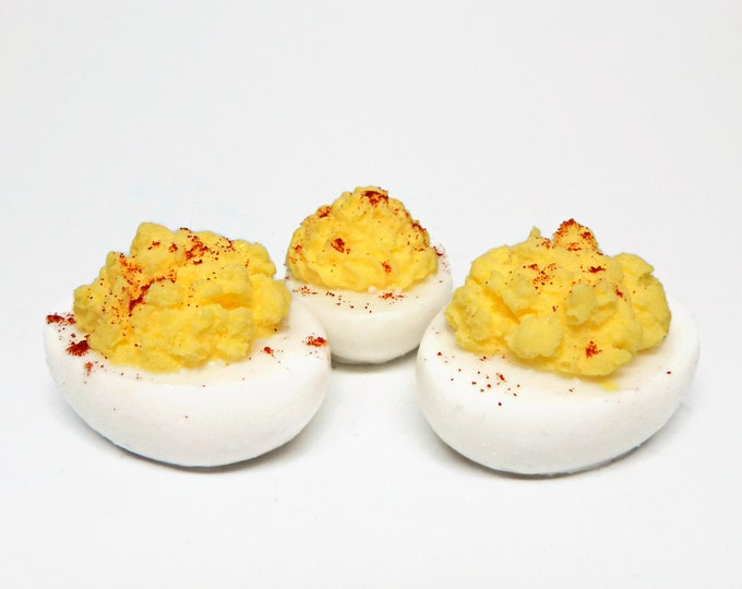 Deviled Egg Shaped Soap - 3 Pieces