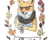 Basic Fox Print