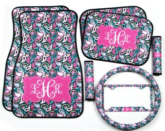 Steering Wheel Cover Lilly Pulitzer