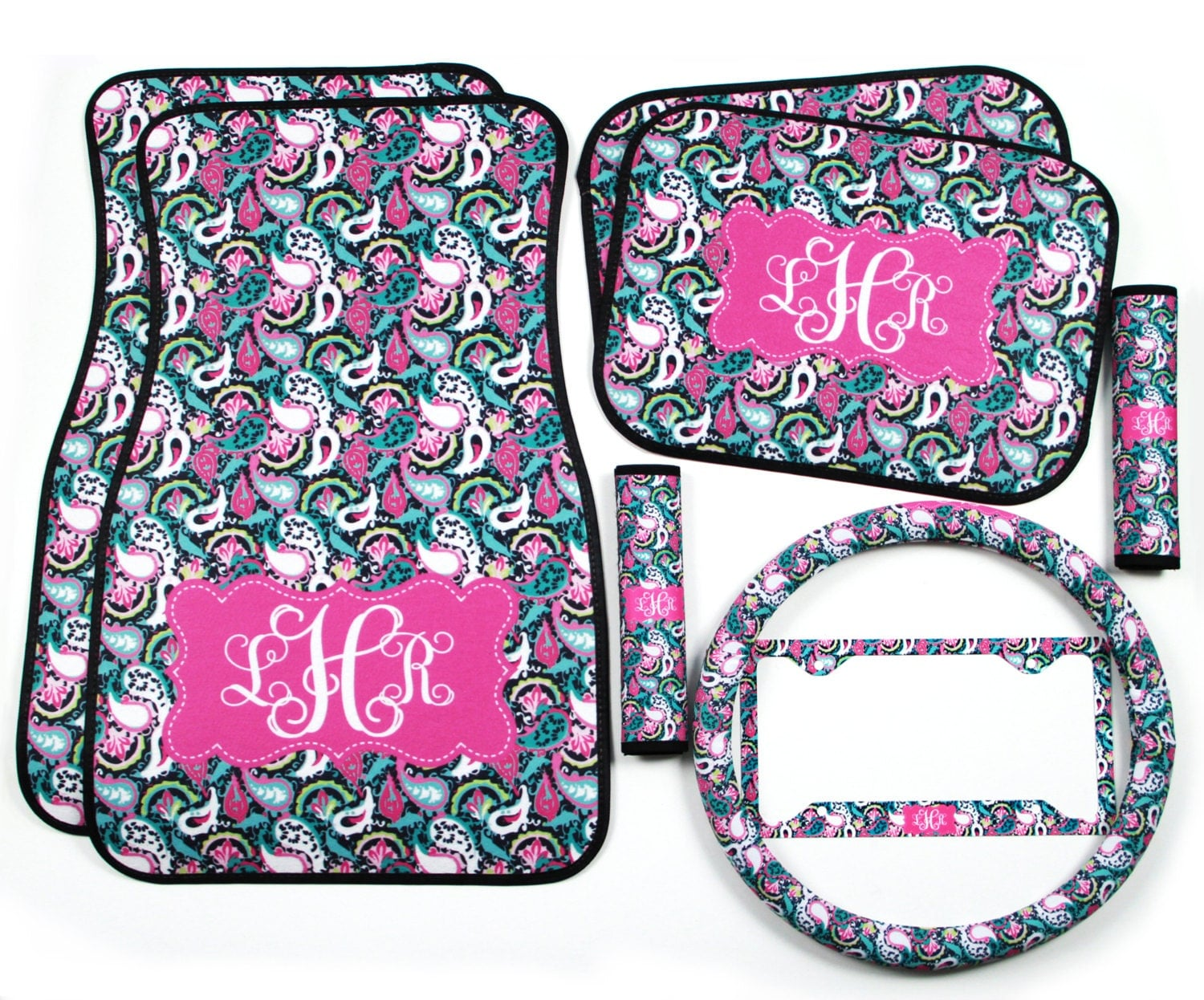 Paisley Car Seat Covers