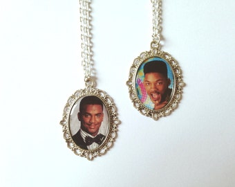 Fresh Prince of Bel Air Cameo Necklaces