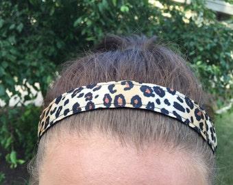 Cheetah Headband for Girls, Headband Girls Gift Ideas, Choice of Size, Girls Headbands for Kids Gift Ideas Stocking Stuffer