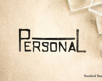 Personal Rubber Stamp - 3 x 1 inches