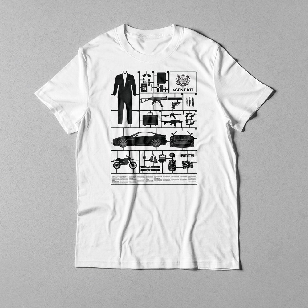 secret agent kit t shirt 012. Black Bedroom Furniture Sets. Home Design Ideas