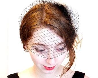 Birdcage Veil for Weddings or Retro Fashion