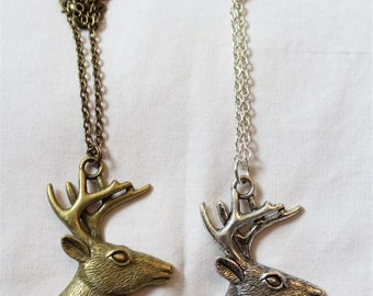 """My Deer"" necklace"