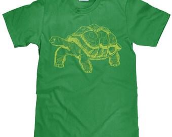 Turtle T Shirt - Tortoise Tee Shirt - Land Turtle Tee - Item 2208