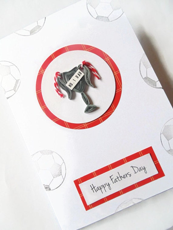 fathers day trophy card quilled trophy fathers day card no 1 card fathers by 4450