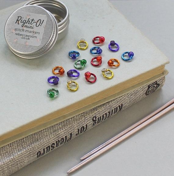 Knitting Supplies Uk : Mini stitch markers uk knitting supplies snag free rainbow