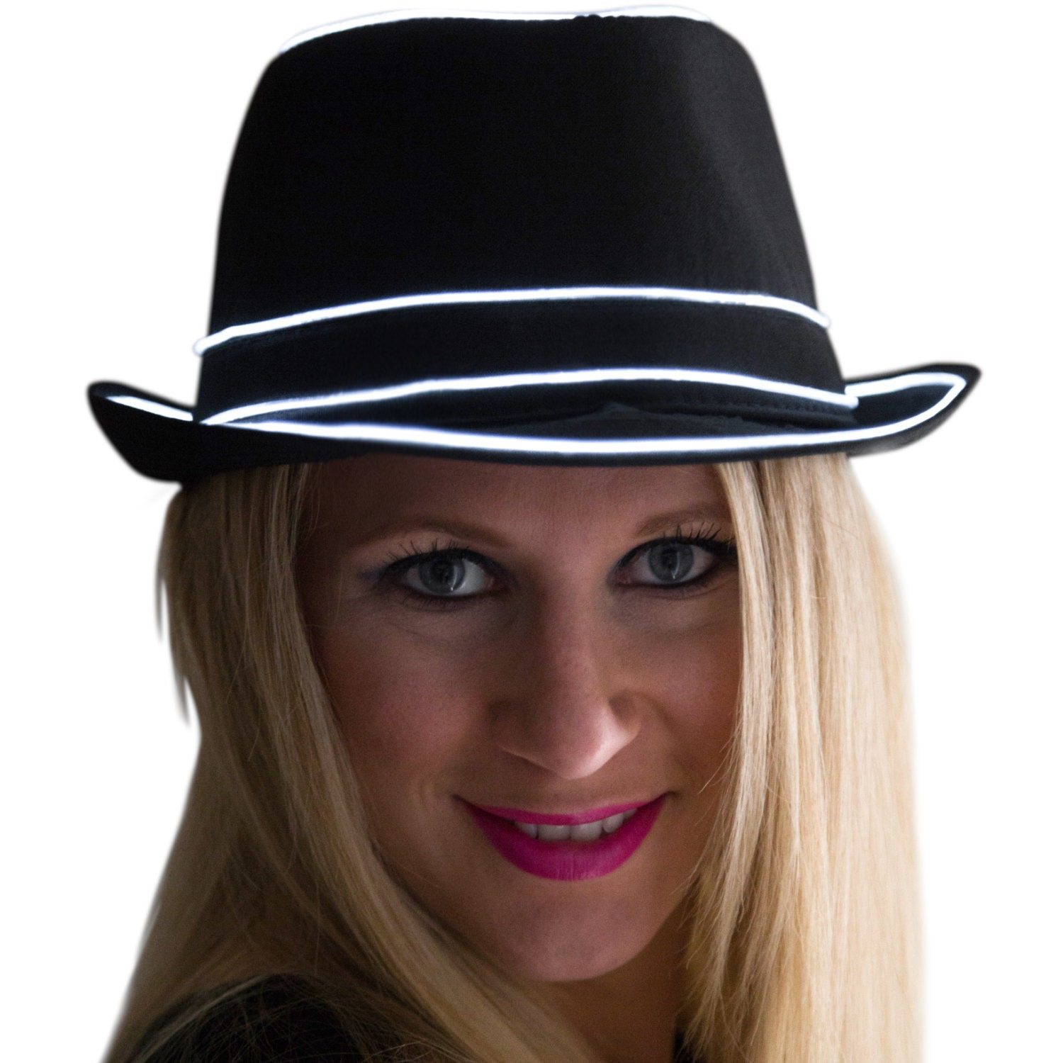 black singles in fedora Black, white or black  hemp fedora has a one and three quarter inch brim with a 5 inch pinch front crown the black single grosgrain ribbon is accompanied by a.