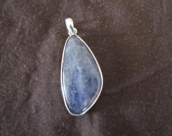 Sterling Silver Kyanite Pendant