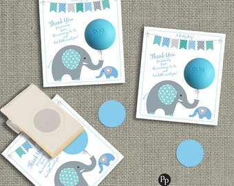 Baby Shower Gift Tags For EOS Lip Balm Gifts INSTANT DOWNLOAD Thank You Tags  | Mommy