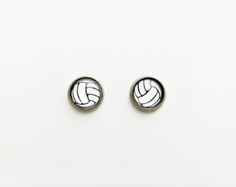 Volleyball Post Earrings - Choose Your Color