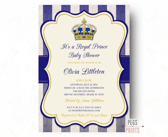 baby shower invites royal baby shower invitations gold baby