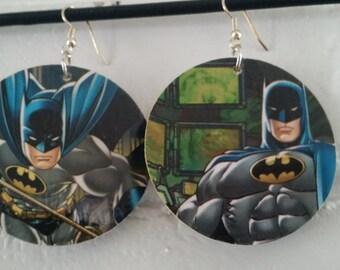 Batman Double-Sided Earrings