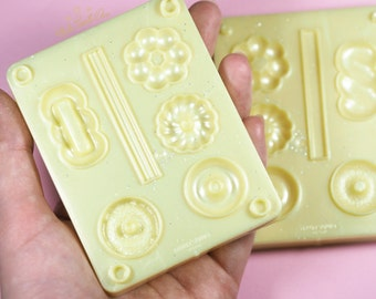 Donuts Clay Mold