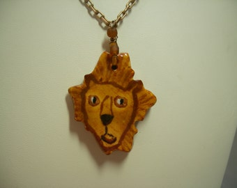 Whimsical Lion Necklace