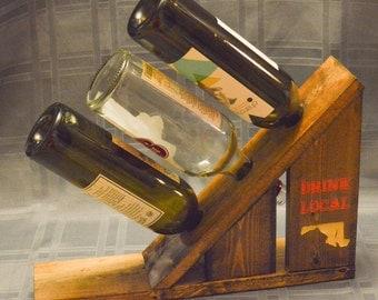 Wine Rack. Maryland. Drink Local. Maryland Wine.