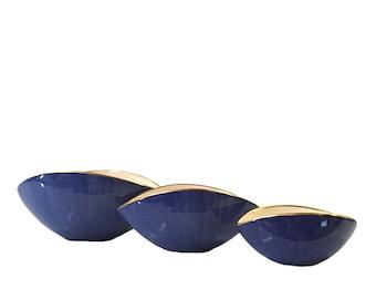 L'Objet 24K Gold Rimmed Oval Bowls *FREE SHIPPING*