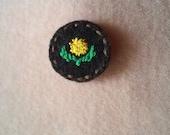 Delightful Dandelion III (Patch, Pin, Brooch, or Magnet)