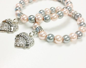 Mother Daughter Jewelry, Mother Daughter Bracelets, Matching Mother Daughter Bracelet, Mommy and Me Bracelets