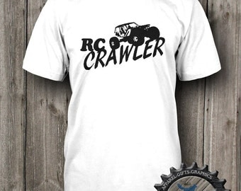 RC Car Shirt,Tshirt,RC Crawler,Mens T Shirt,Crawler,Racing Apparel,1/8th scale, RC Sports Apparel,BFC_101_T