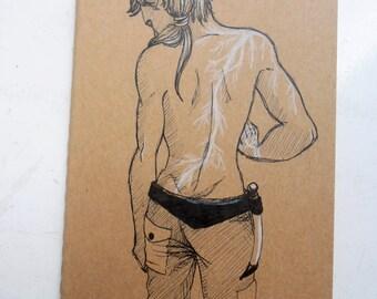 Illustrated Sketchbook / Notebook