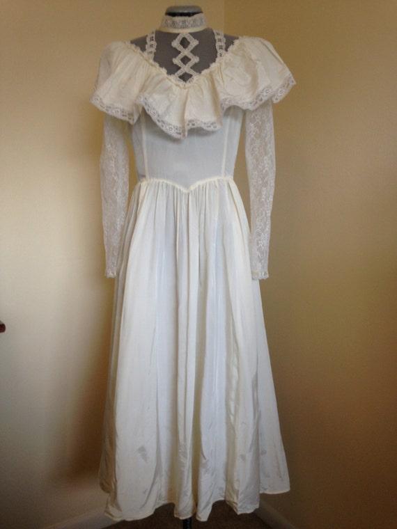 1970s gunne sax wedding dress for Gunne sax wedding dresses