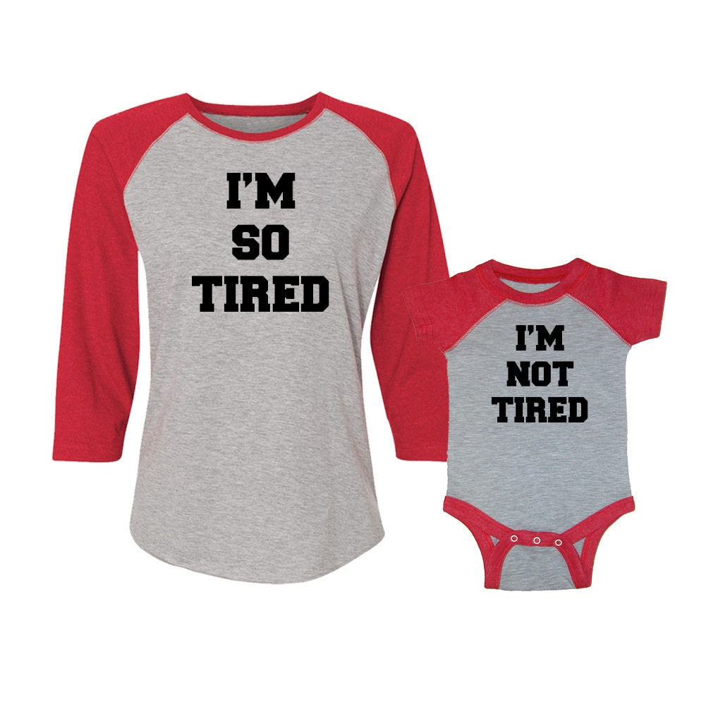 I'm So Tired & I'm Not Tired 2-Piece Women's By Matcheematchee