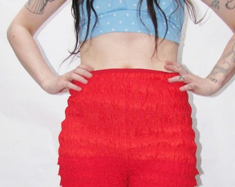 60's Red lace bloomers