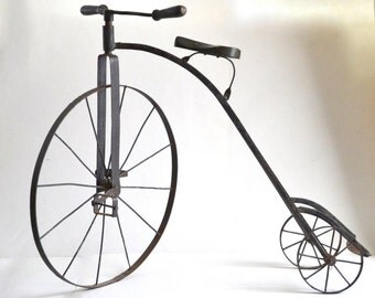 Rare French tricycle child's toy