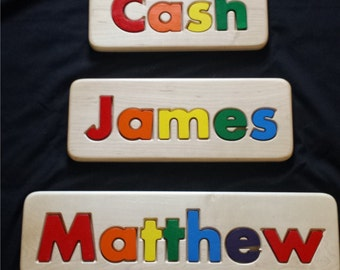 Children Personalized Name Puzzle