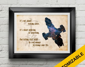Firefly Serenity Poster - Joss Whedon