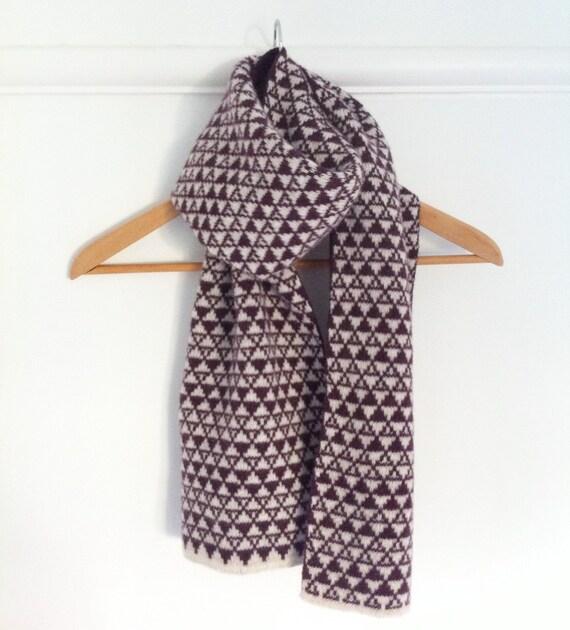 Knitting Pattern Ladies Scarf : Ladies knitted lambswool scarf knitted scarf ladies knitted