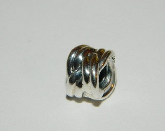 Authentic Pandora Charm Forget Me Knot S925 Ale no 790484 New Retired