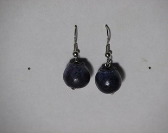 Cute Blueberry Earrings!