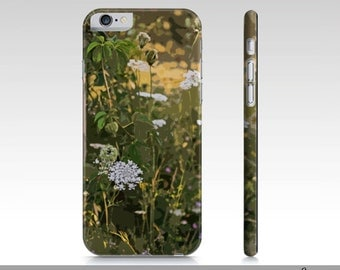 Wildflower Art iPhone Case, Wildflowers iPhone 6 Cases and Covers, Wildflowers Phone Case For iPhone 6/6S, Unique iPhone Accessories,