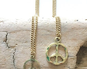 Peace & Love Charms