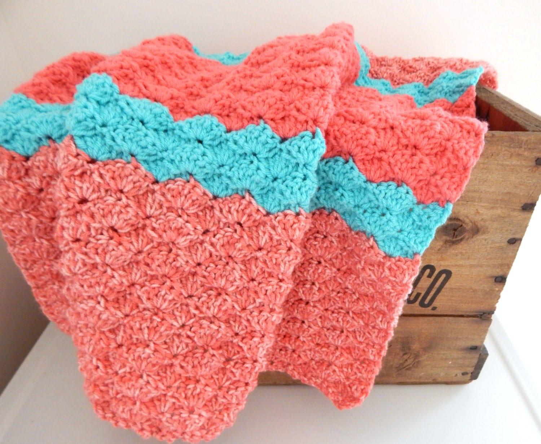 Knitting Pattern Travel Blanket : Crochet Baby Blanket Knit Baby Blanket Stroller Travel