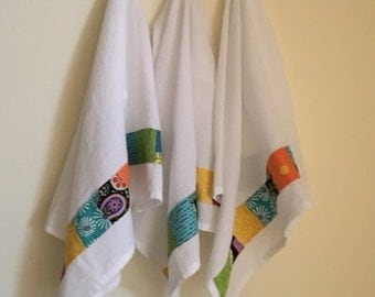 Kitchen Towels / home sweet home/ hostess gift