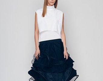 Spring Skirt, Plus Size Maxi Skirt, Tutu Skirt, Circle Skirt, Ruffle Skirt, Black Long Skirt, Wedding Skirt, Punk Skirt, Elegant Skirt